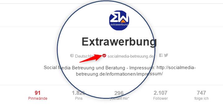 öffentlich_verifizierte_webseite_bei_Pinterest