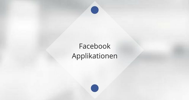 Facebook Applikationen – Individualisieren Sie Ihre Fanpage!