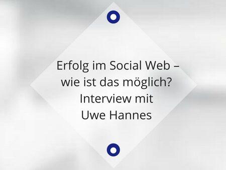 Erfolg im Social Web – wie ist das möglich?