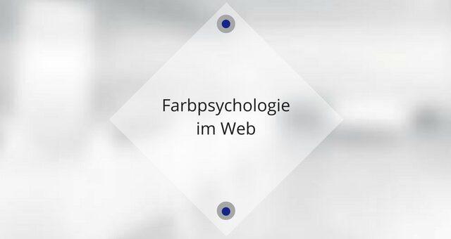 Farbpsychologie im Web