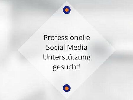 Professionelle Social Media Unterstützung gesucht