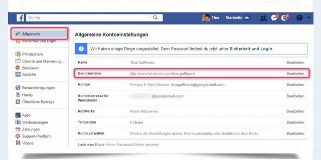 facebook-benutzername-einrichten