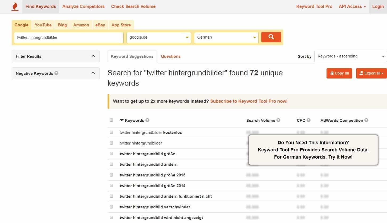 tools-fuer-blogger-keywordtool