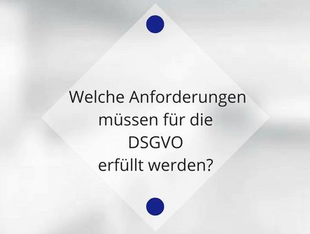 Wie setze ich die Anforderungen der DSGVO für meine Website um?