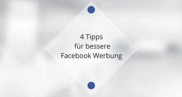 Mehr Interaktion durch Bilder: 4 Tipps für bessere Facebook Werbung