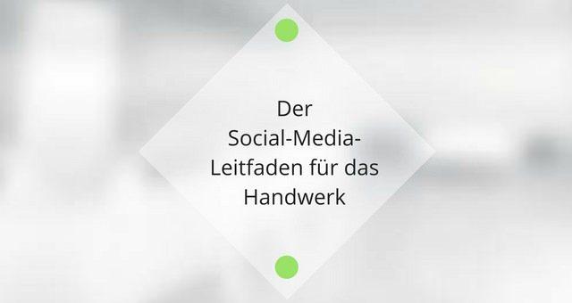 Buchtipp: Der Social-Media-Leitfaden für das Handwerk