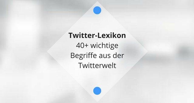 Das Twitter Lexikon